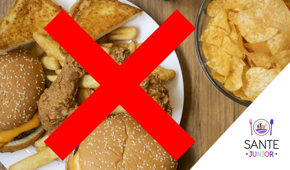 Tine-ti copilul departe de junk food