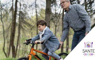 Cum sa-ti inveti copilul sa mearga pe bicicleta